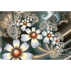 Абстрактни нежни цветове