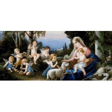 Гоблен Мадона с младенеца