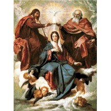 Гоблен Коронацията на Светата дева