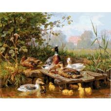 Гоблен Патета в река